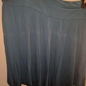 Teal Lane Bryant skirt size 22/24